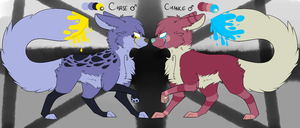 Chase and Chance Reference 2013 by SpectralCoyote