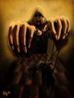 Scarecrow - Dark Knight as a Puppet by Bohy