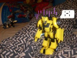 Bumblebee Lonely by Hellblaze