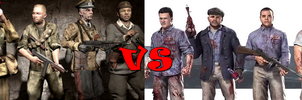 Grief Farm Black ops 1 zombies VS Mob of the dead by Gabrielle3Richtofen