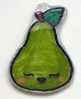 Kawaii Charms- Pear by Isilian