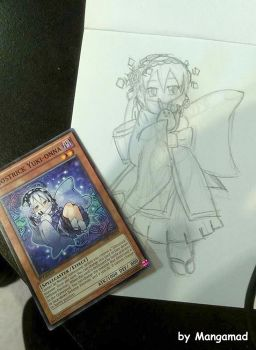 Ghostrick Yukionna (sketch photo) by Mangamad