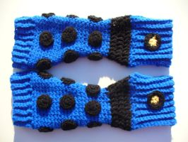 Dalek Arm Warmers by pigy152