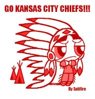Buttercup As Kansas City Chief by blackhellcat