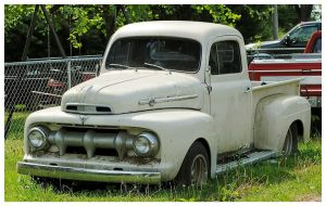 Old Ford Truck Rusting In The Weeds by TheMan268