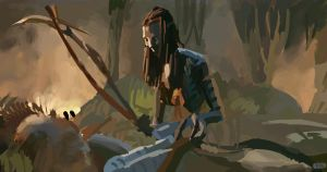 Avatar study! by Paganflow