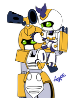Metabee and Kever by guchi-22