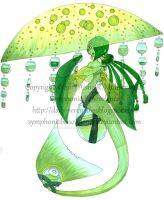 Jade Herbal Mermaid by SymphonicBenevolence