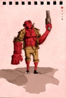 Hellboy 1.0 by CuFtaMaSter