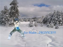Ice-Make...DIGIVICE! by SeleneJessabelle1262
