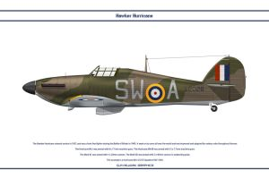 Hurricane GB 253 Sqn by WS-Clave