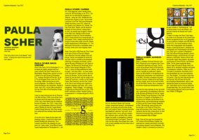 Graphic design magazine by avantgardedesigns