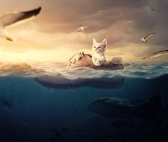 Surreal Underwater Scene With Adobe Photoshop by Designslots