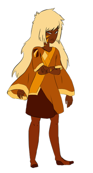 SU Gemsona - Tiger's Eye by Madam-Uzumaki