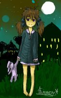a walk outside by anime-begginer12