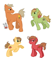 Spain House Ponies by Chary9