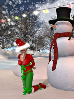 Second Life Molly is a reluctant present by MollyFootman
