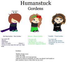 Humanstuck Gordens by Zerada