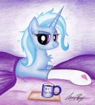 Trixie Just Woke Up by TheChrisPony