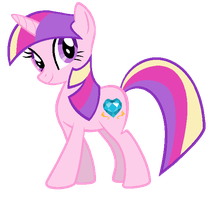 Twilight Sparkle in Princess Cadence's colors by AdolfWolfed4Life