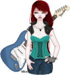 GuitarGirl by Mika-Chan-Ness