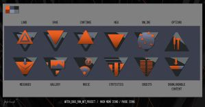Icons Watch Dogs Fan Art Project by keyholestyle