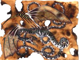 The Cyclone Dragon by Dracanid