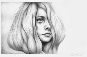 Reverie Drawing by MichaelShapcott