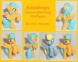 Custom Blind Bag Raindrops by Gryphyn-Bloodheart