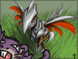 Skarmory... on the hunt by wedgeantilleshzdgj