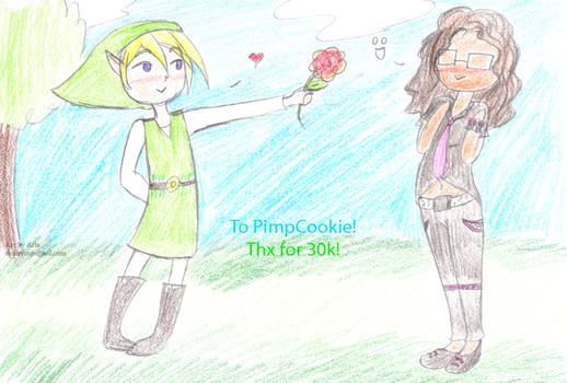 Pimpcookie's 30k request by Inuyoujo