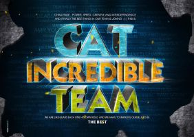 CAT INCREDIBLE TEAM by 5835178
