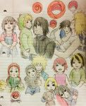 Uchimaki Children and emblems by deadvampire32