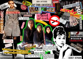 My own universe collage by maitram