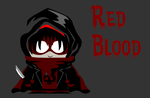 Red Blood (side-kick of Black Shadow) by Ask-Jareen