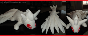 Ninetails Plush by Allyson-x