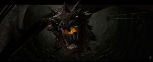 Smaug the destroyer by Johnson-X