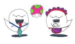 Salesman Boo and Boo Mother by sidser