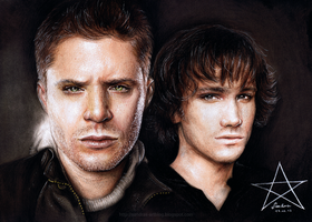 Supernatural Portrait by Sadako-xD