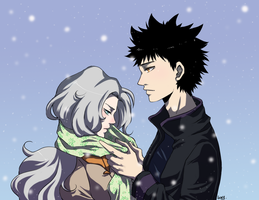 Its cold by akaibelier