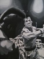 ROCKY BALBOA paper champion by ARTIEFISHEL79