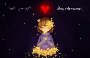 Stay Determined... by Masaomicchi