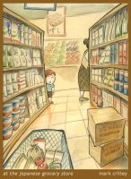 At the Japanese Grocery Store by markcrilley