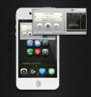 iTunes MusicBarExtended skin by ulysseleviet