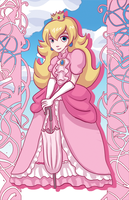 Princess Peach by khiro