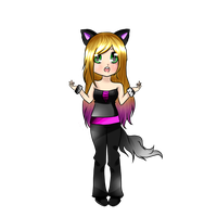 .::CONTEST::. Catty Human by NekoAngieChan