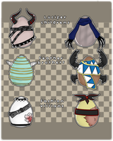 {.:Offer/Egg Humanoid Adoptables -CLOSED-:.} by Drakyblack