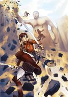 Shingeki no kyojin by visualkid-n