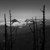 Distant volcanoes by SantiBilly