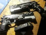 ADNOR 989 Black tiger mod 3 type with 10.mm mags by adamnorde583